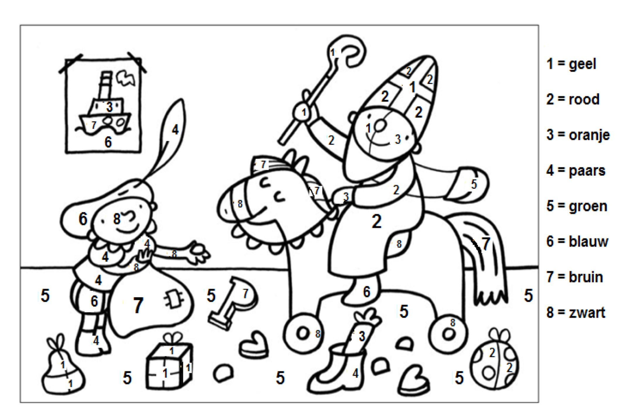 Pin Van Trudy Bel Op Sinterklaas Kapoentje Sinterklaas Knutselen Sinterklaas Thema