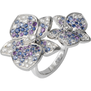 caresse d'orchidees par cartier ring Orchid jewelry