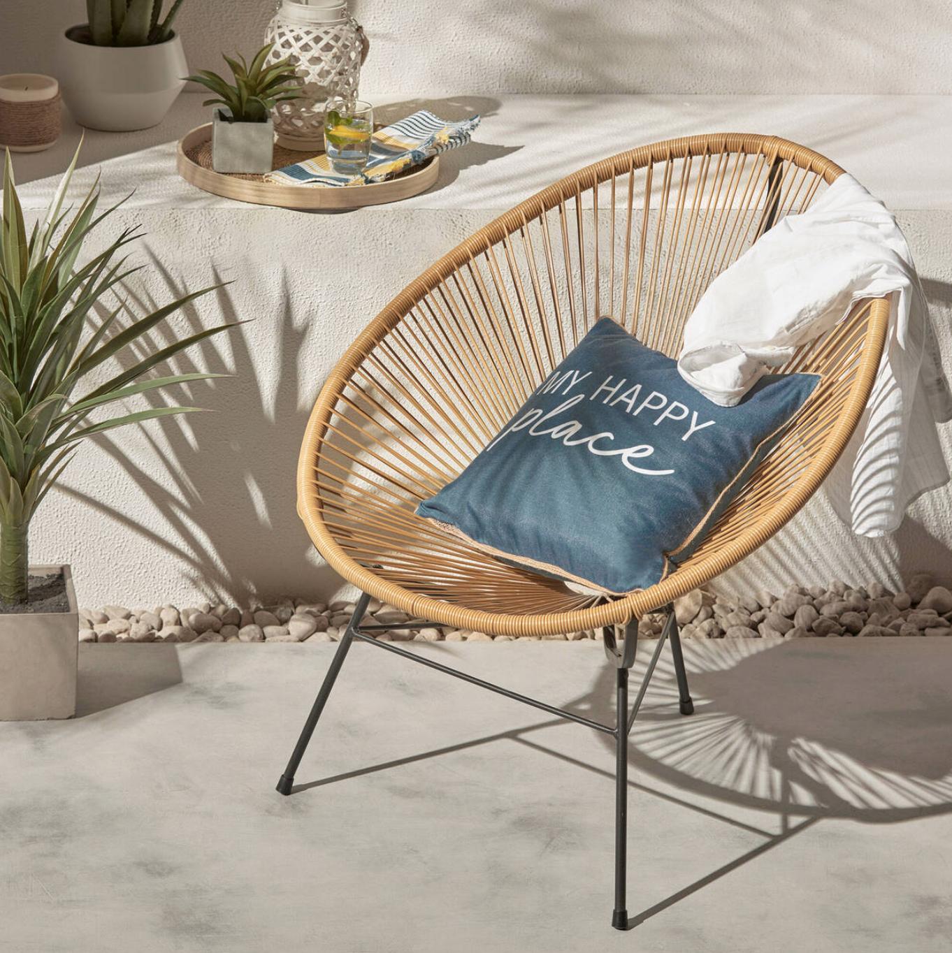 Chaise Exterieur   Chaise acapulco, Bouclair maison, Chaise exterieur