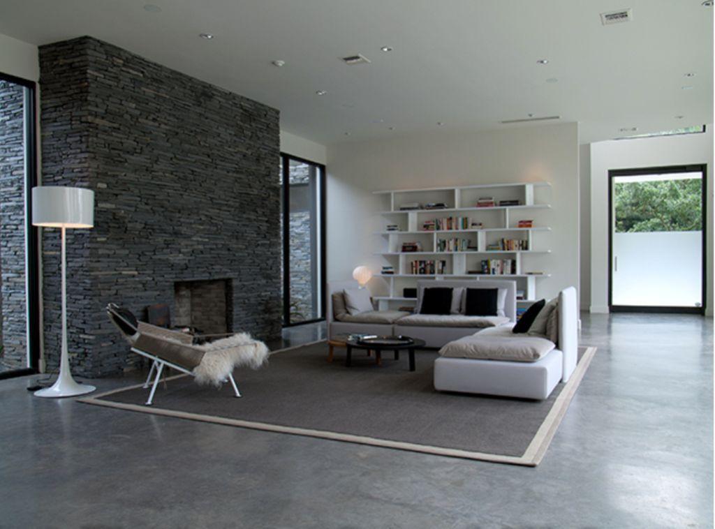 Living Room Flooring Useful Solutions And Superb Design Ideas Living Room Designs Concrete Floors Living Room Living Room Flooring