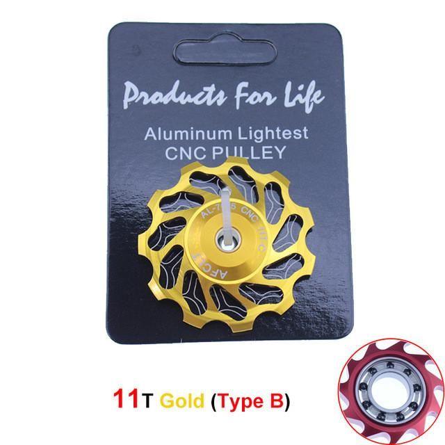 MTB 11 T/13 T Jockey Wheel pulley Ceramic Bearings