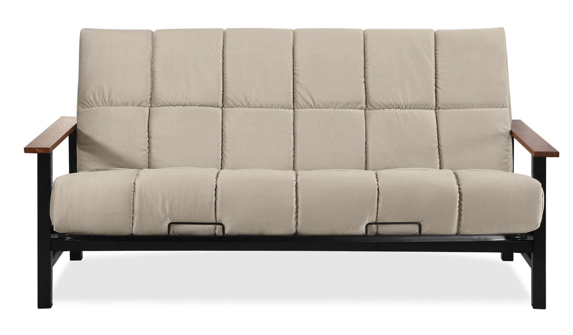 Simmons Futons Phoenix Futon And Mattress Color Biscuit