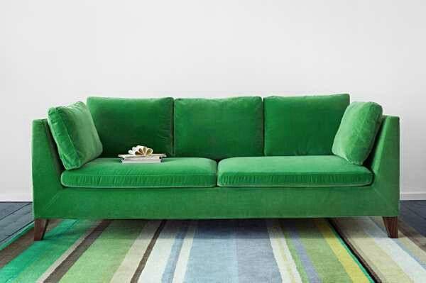 The Ikea Emerald Velvet Sofa Green Sofa Green Velvet Sofa Sofa Design