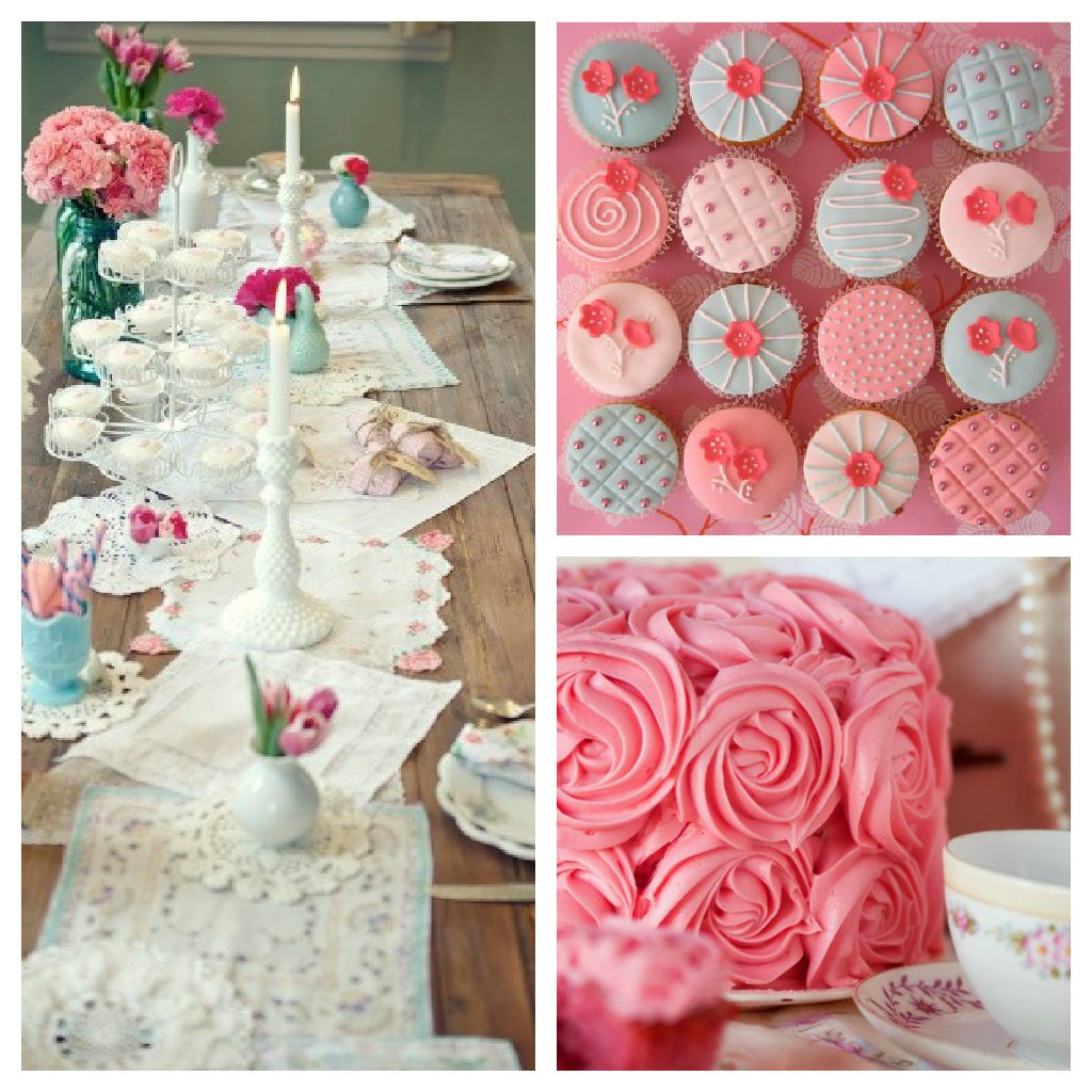 Girly First Birthday Inexpensive birthday party ideas