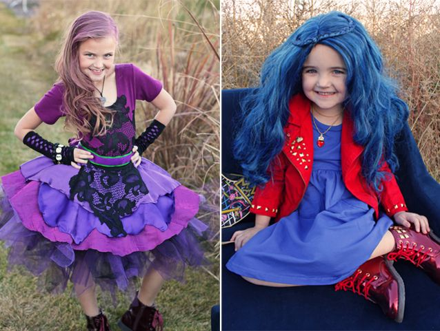 Disney descendants 2 costumes mal evie do it yourself disney descendants 2 costumes mal evie do it yourself pinterest disney descendants descendants and costumes solutioingenieria Images