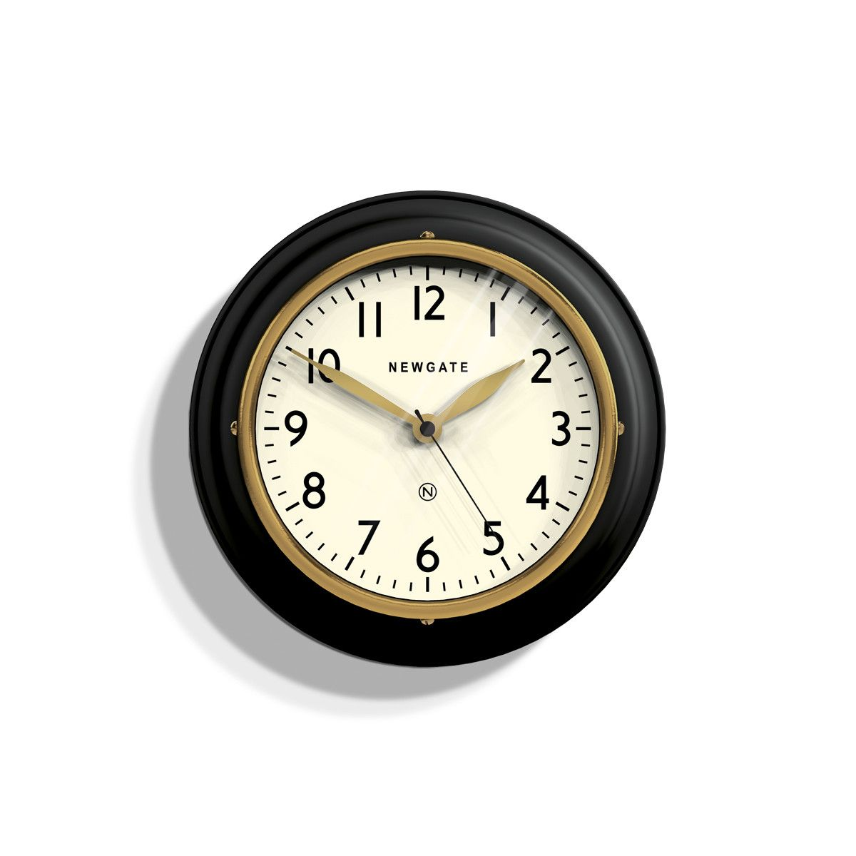 9 Inches Mini Cookhouse Ii Small Kitchen Wall Clock Classic Black