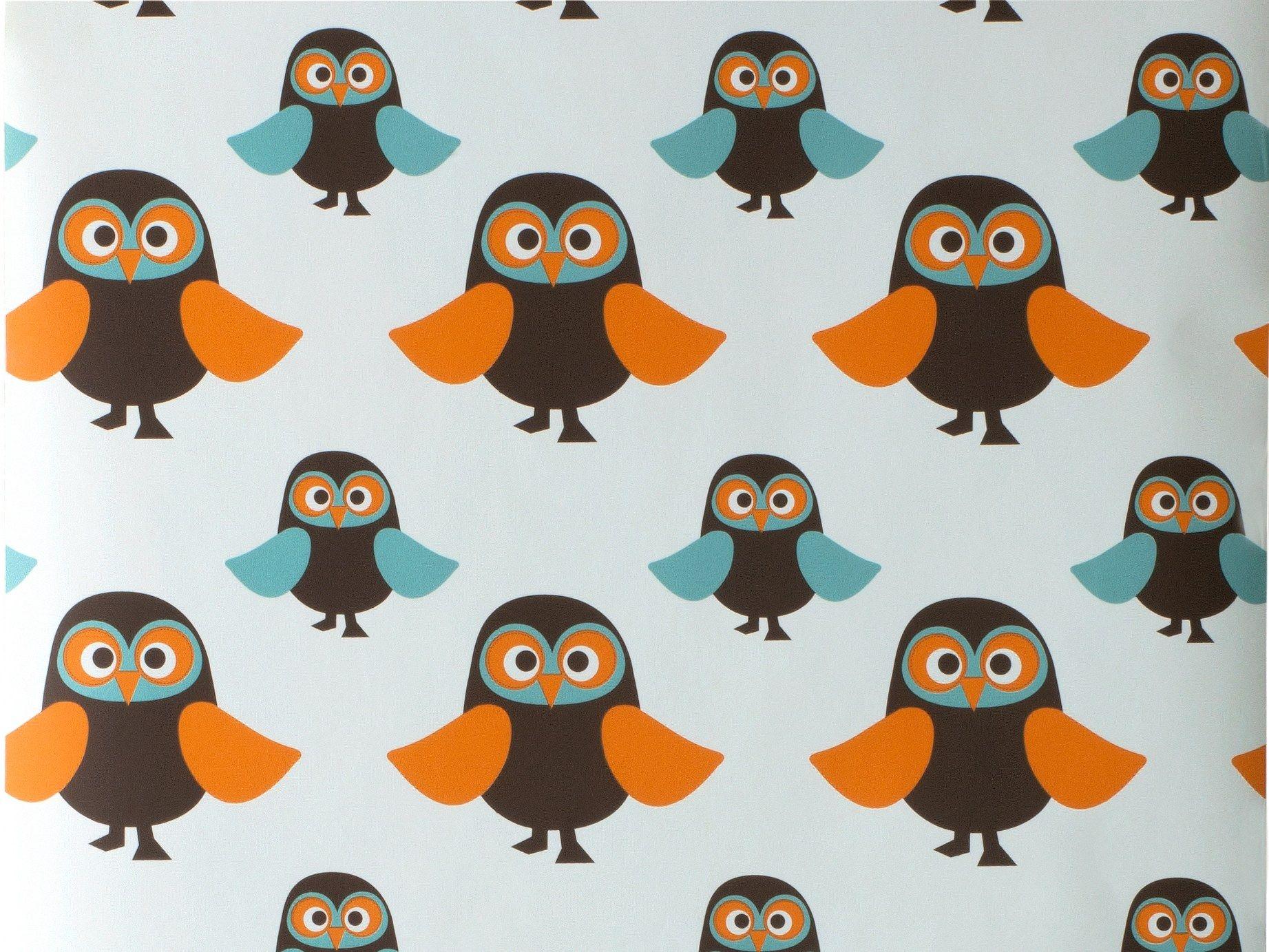 Sfondi Bambini ~ Carta da parati a motivi per bambini owls carta da parati