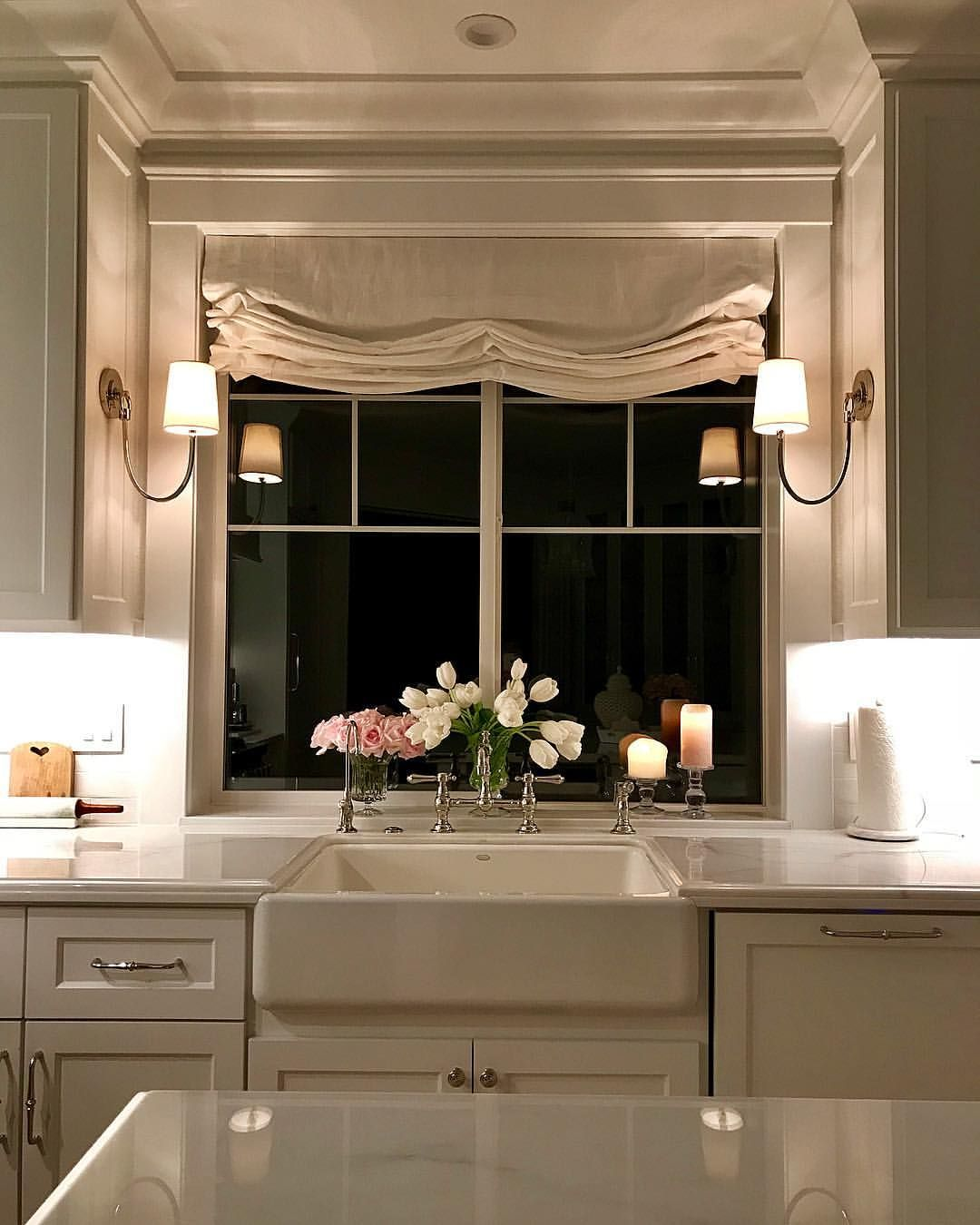 Kitchen Cabinet Curtains: Home Decor, Home Remodeling, Home Kitchens