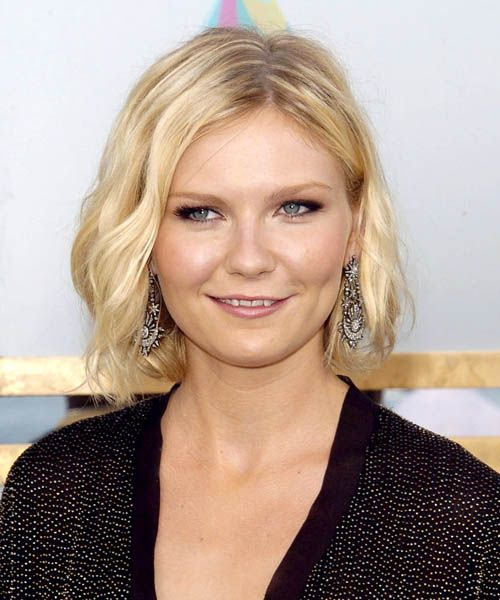Kirsten Dunst Hairstyles Short Hair Styles For Round Faces Bob Hairstyles For Round Face Round Face Haircuts