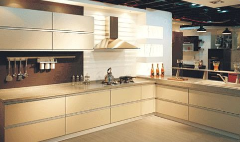 L Shape Modern Kitchen Cabinets Design  Kitchen  Pinterest Fair Design Of Kitchen Cabinets Inspiration Design