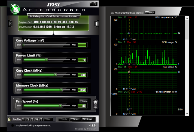 How to Safely Overclock Your GPU to Gain FPS Graphic