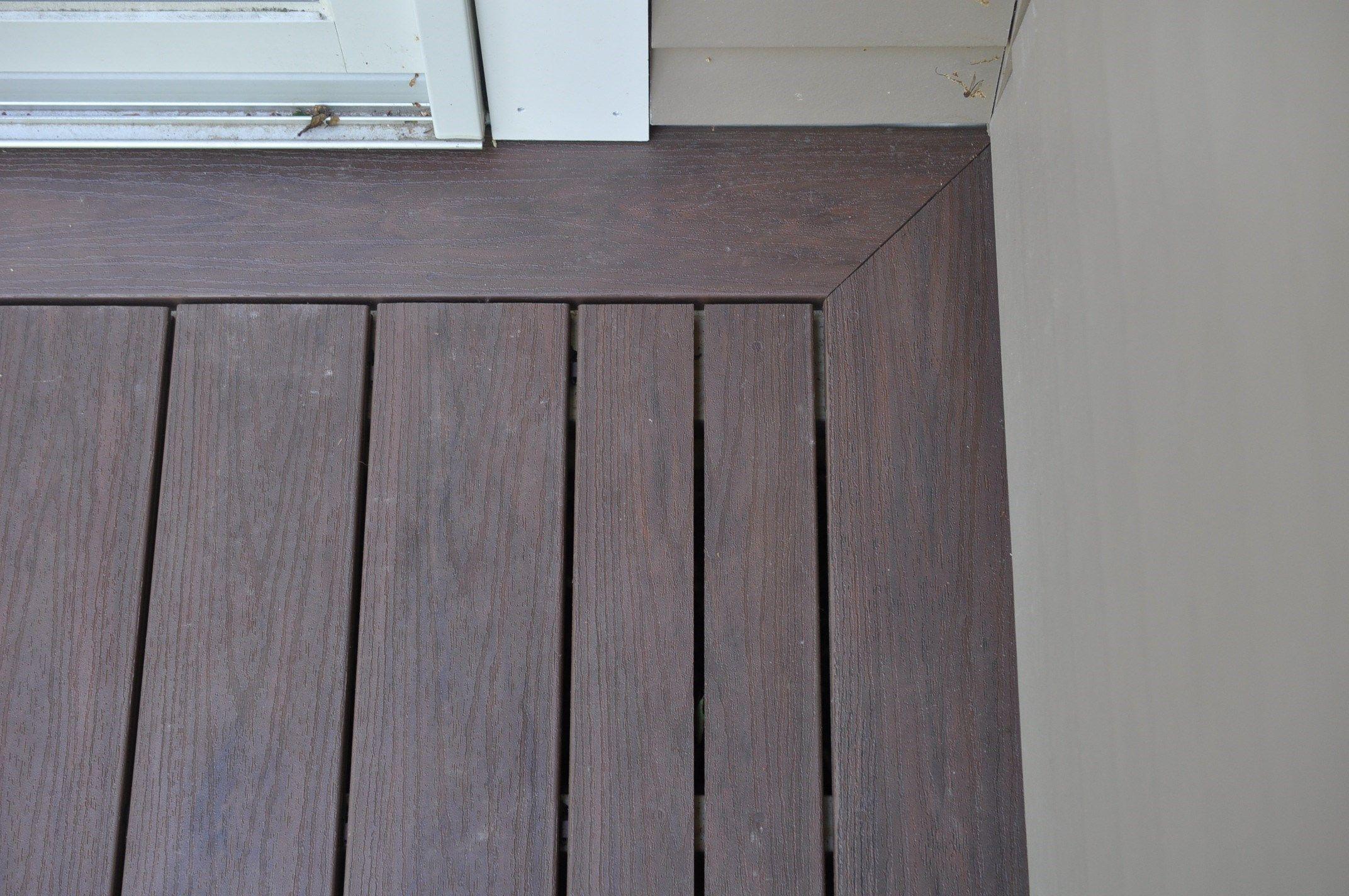 Installing Composite Decking Building A Deck Composite Decking
