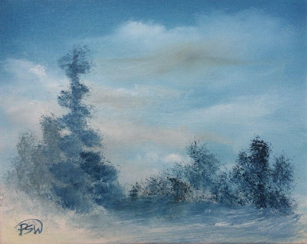 Pip Walters 8x10 034 Original Landscape Oil Painting Oil Painting Landscape Original Landscape Oil Painting