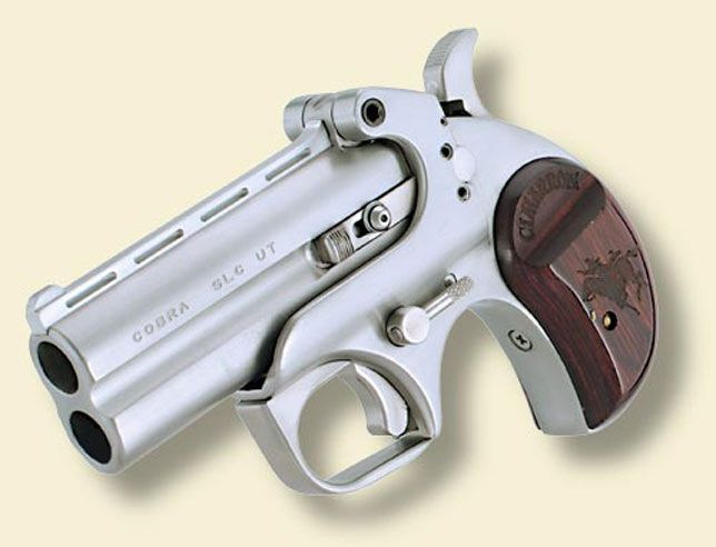 Cimarron Firearms: Titan Derringer Taking a page from the Bond Arms