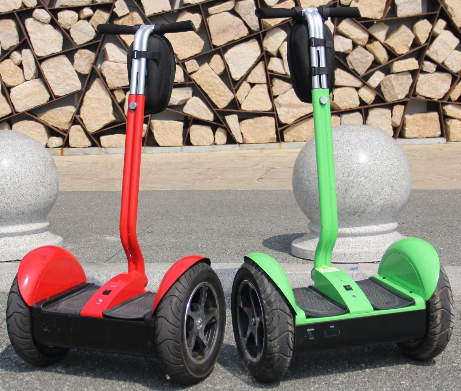 green and red segway segway original and new versions pinterest. Black Bedroom Furniture Sets. Home Design Ideas