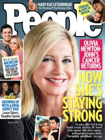 People 54 Issues Olivia Newton John People Magazine