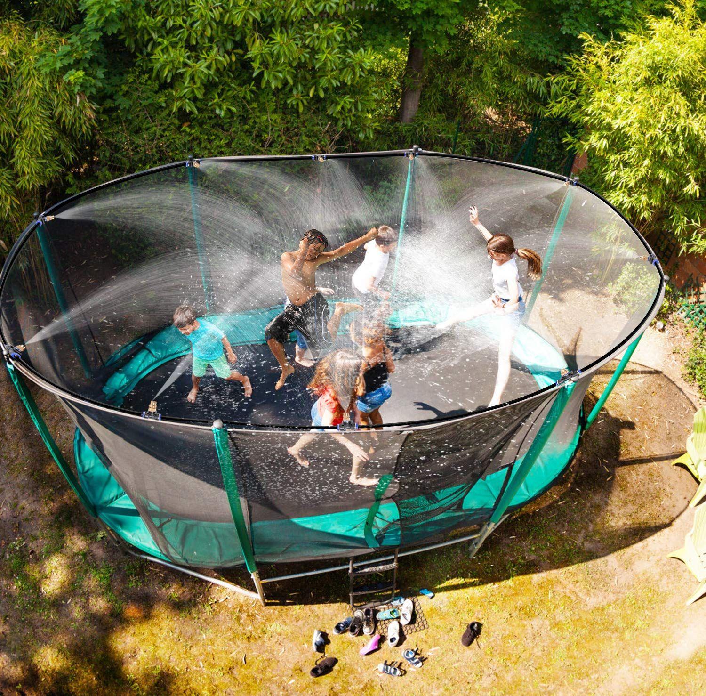 Outdoor Trampoline Water Play Sprinklers for Kids- Summer ...