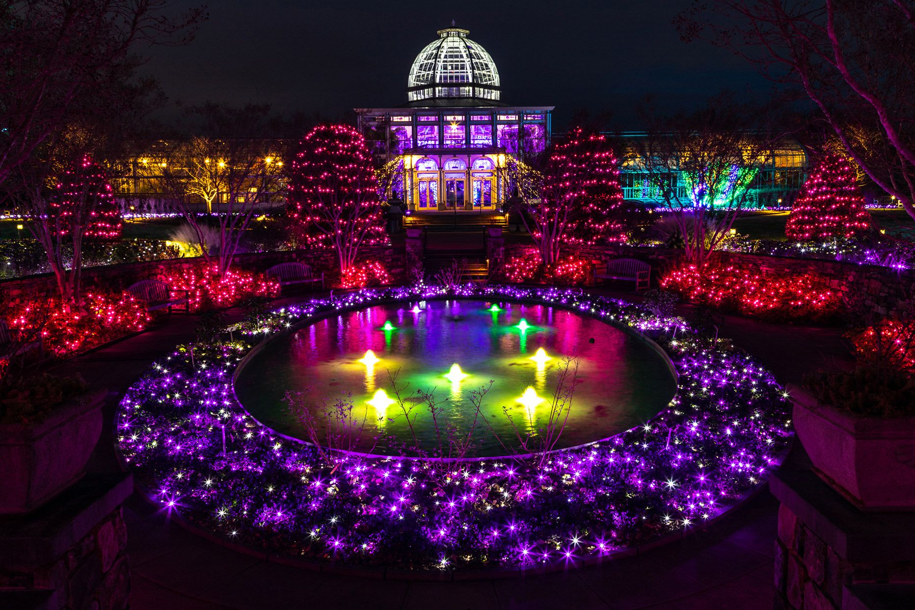 Fantasy In Lights at Callaway Gardens, Pine Mountain GA