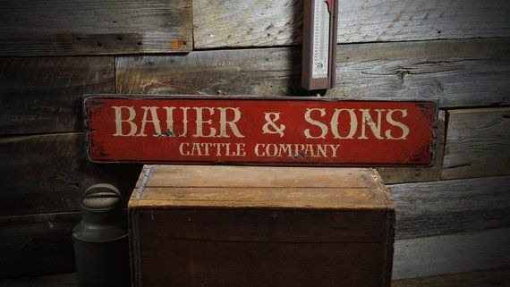 Distressed Antiques Sign Rustic Hand Made Vintage Wooden Sign ENS1000420