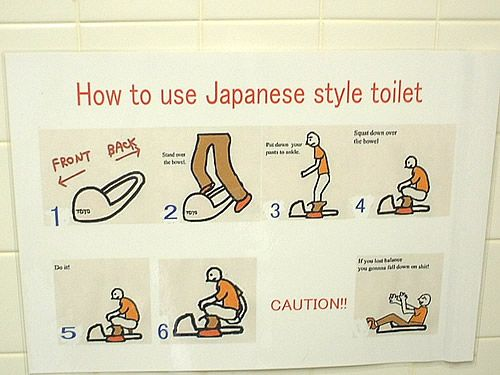japanese style toilet seat. How to use a Japanese style toilet  This is hilarious If you lost