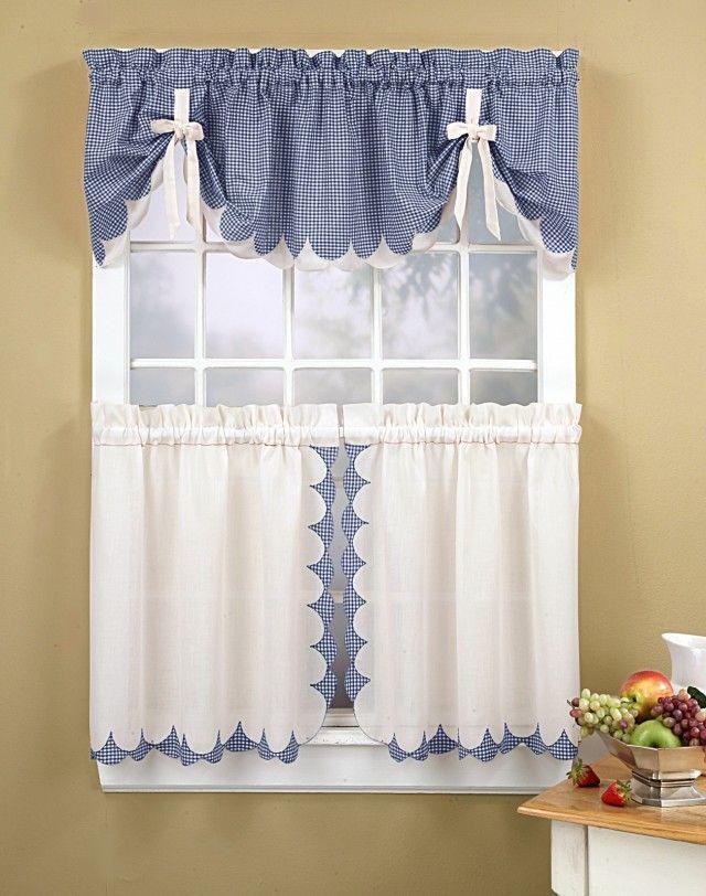 Modelos De Cortinas Para Tu Cocina, ¡escoge Tu Favorito!   Cocina ...    Cortinas   Pinterest   Curtain Ideas, Window Dressings And Window Part 54