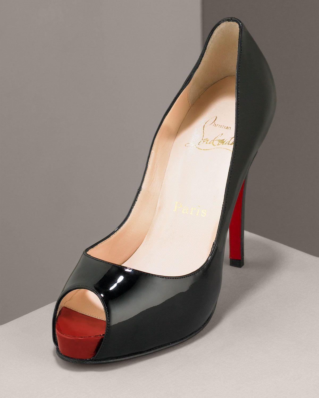 d7ee24cc5a6 Christian Louboutin Very Prive Patent Pump | Shoes | Fashion dresses ...