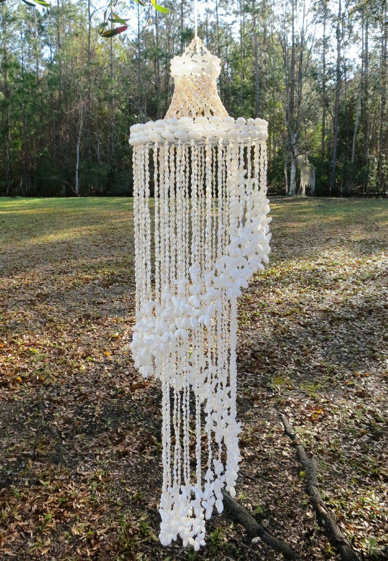 Large wind chimes for sale - 17 Best Images About Shell Windchimes Planters Chandeliers On Pinterest Shell Wind Chimes Seashell Wind Chimes And Acrylics