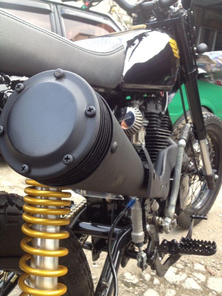 Honda Gl Pro Modified Scrambler Moto Pinterest Honda Gl Pro