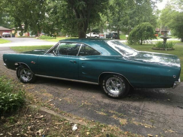 LL1 Dark Turquoise 68 Coronet R T Stripe Delete Car