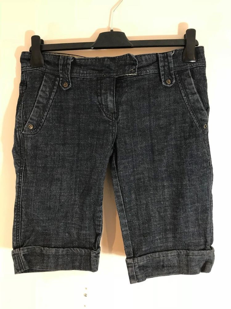 4187d5bf01c LADIES SUMMER SHORTS WOMEN S UK SIZE 10   EU 38   WASHED OUT NAVY BLUE  STYLE  fashion  clothing  shoes  accessories  womensclothing  shorts (ebay  link)