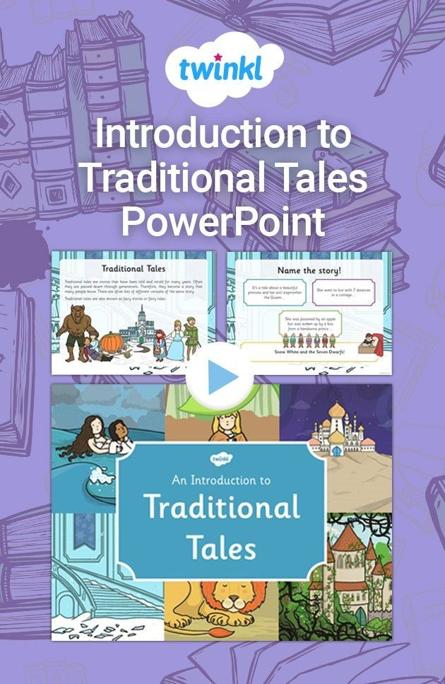 Introduction to Traditional Tales PowerPoint in 2020