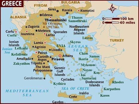 Mykonos, Santorini, Athens, Patras, Corinth, Thessaloniki ...
