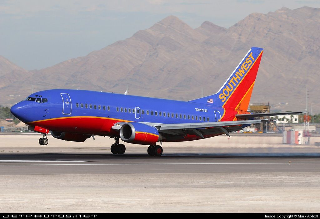 Southwest Airlines Boeing 737-5H4