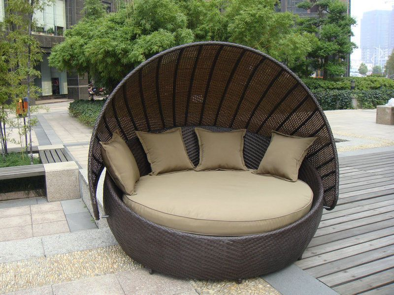 quality outdoor rattan furniture manufacturers exporter buy outdoor rattan furniture aluminium frame resin wicker daybed from china manufacturer