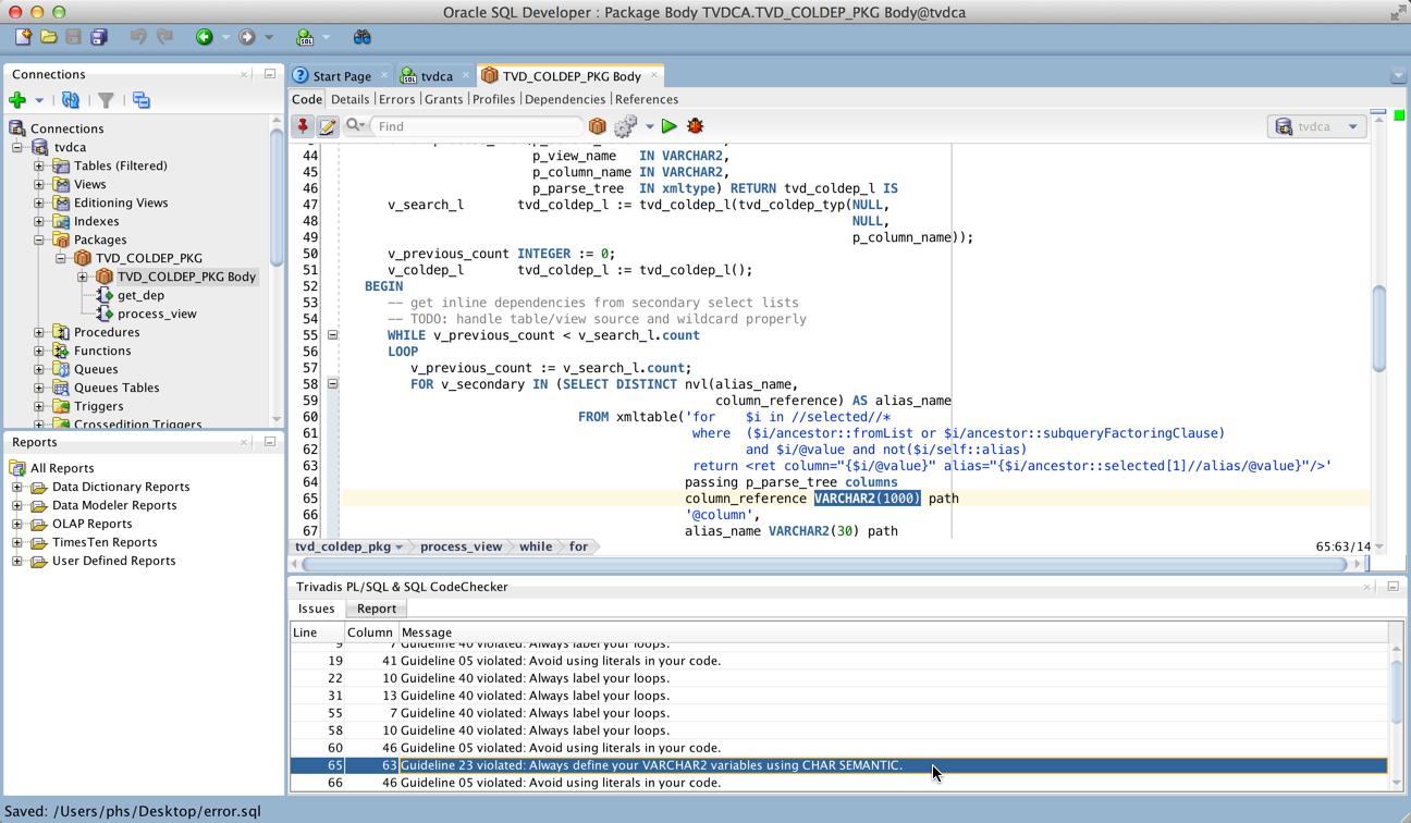 Pl Sql Cop For Sql Developer Released