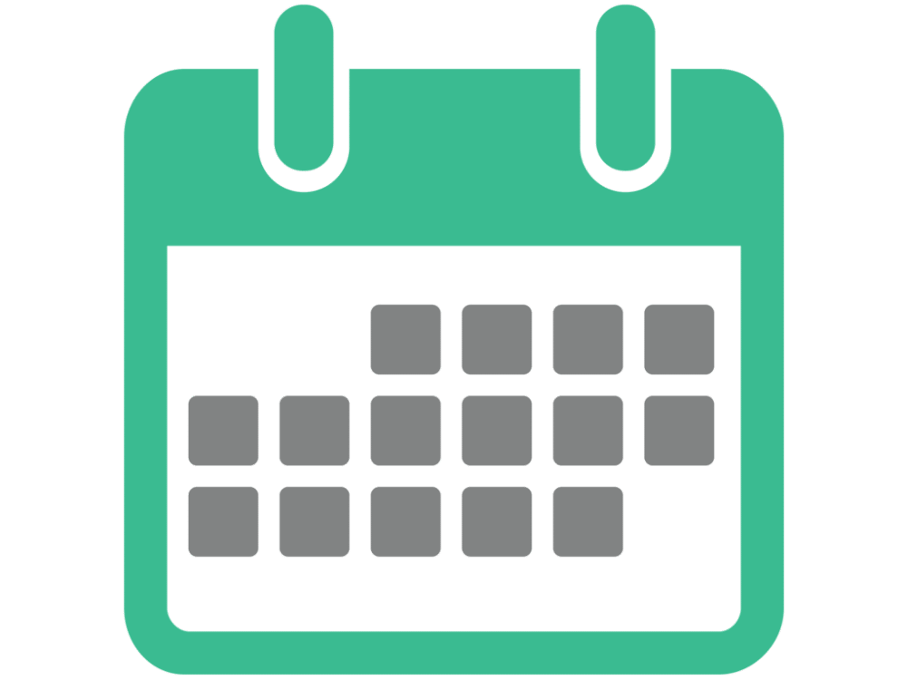 Blank Calendar Icon Green : Calendar vector icon free icons pinterest