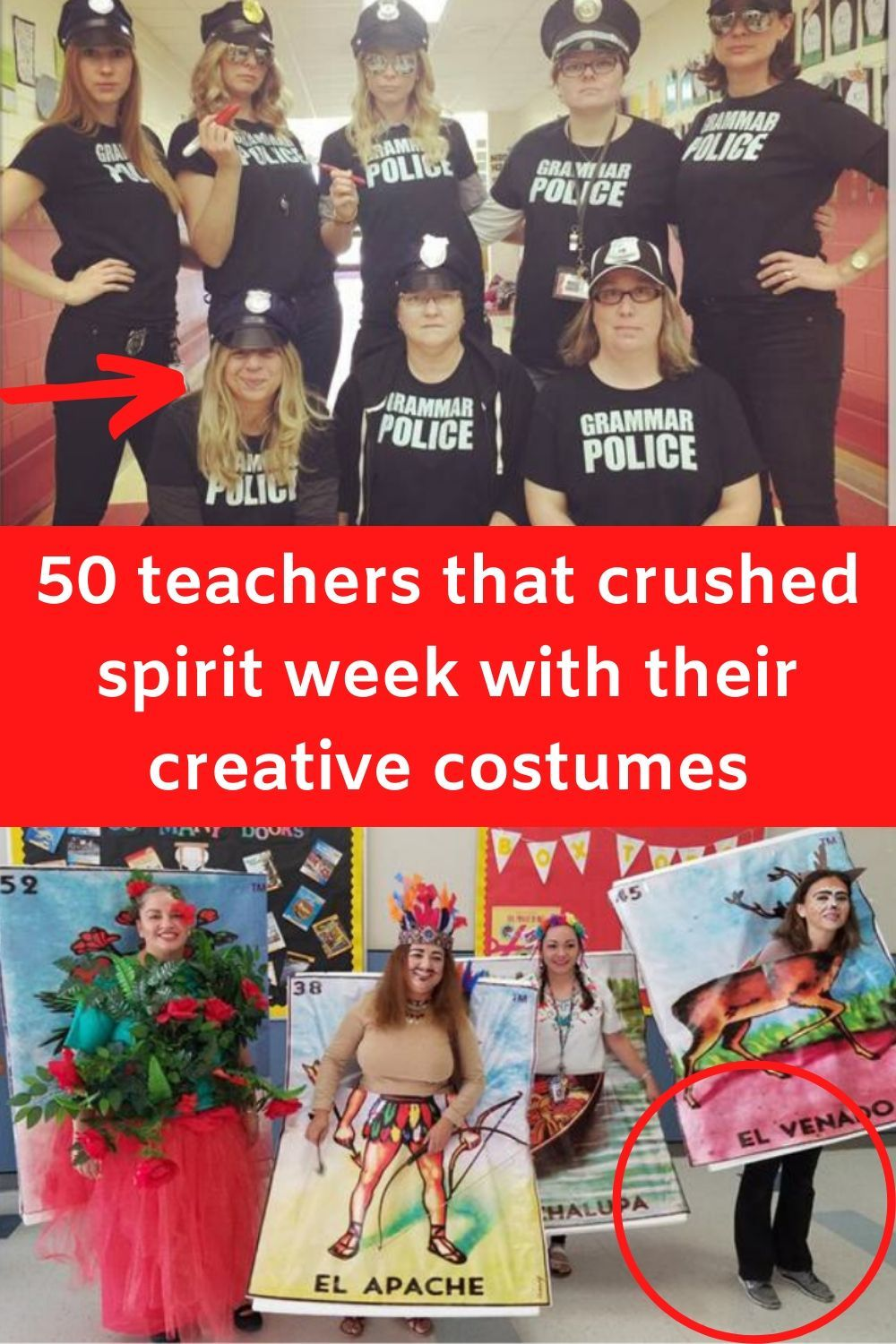 50 Teachers That Crushed Spirit Week With Their Creative Costumes Creative Costumes Spirit Week Funny Relatable Memes