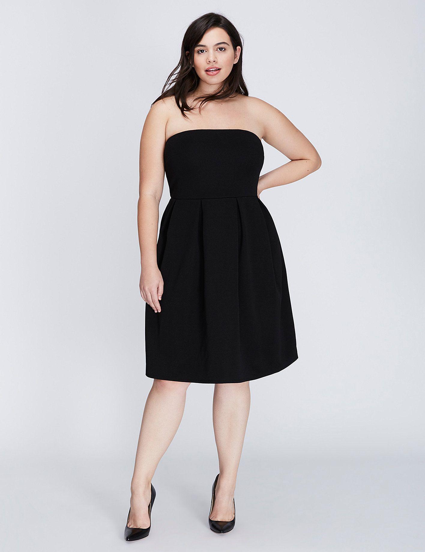 Lane Bryant | Dresses, Strapless dress