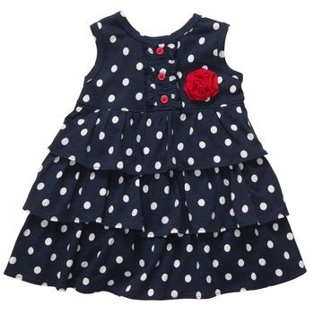 Sleeveless Fourth of July Dress Set--bought this for Emma...with a hat to match! So cute!