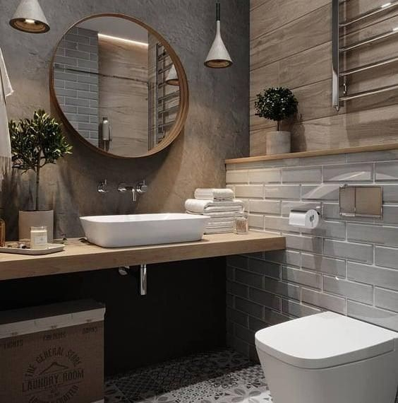 31 Bathroom Tile Ideas Make It Fresh And Not Boring Bathroom Design Bathroom Decor Luxury Bathroom