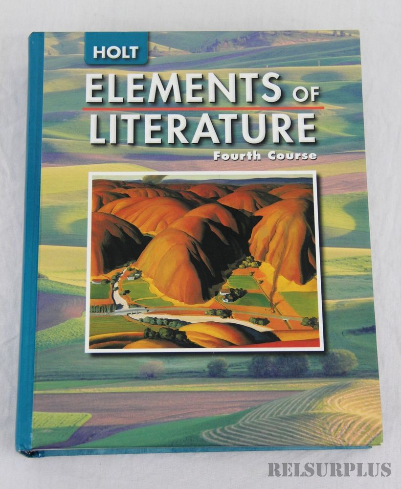 Holt Elements of Literature - Fourth Course - Grade 10 - Hardcover ...