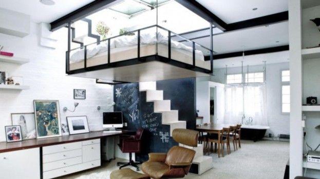 Compact wonen met een gave hoogslaper roomed roomed huis