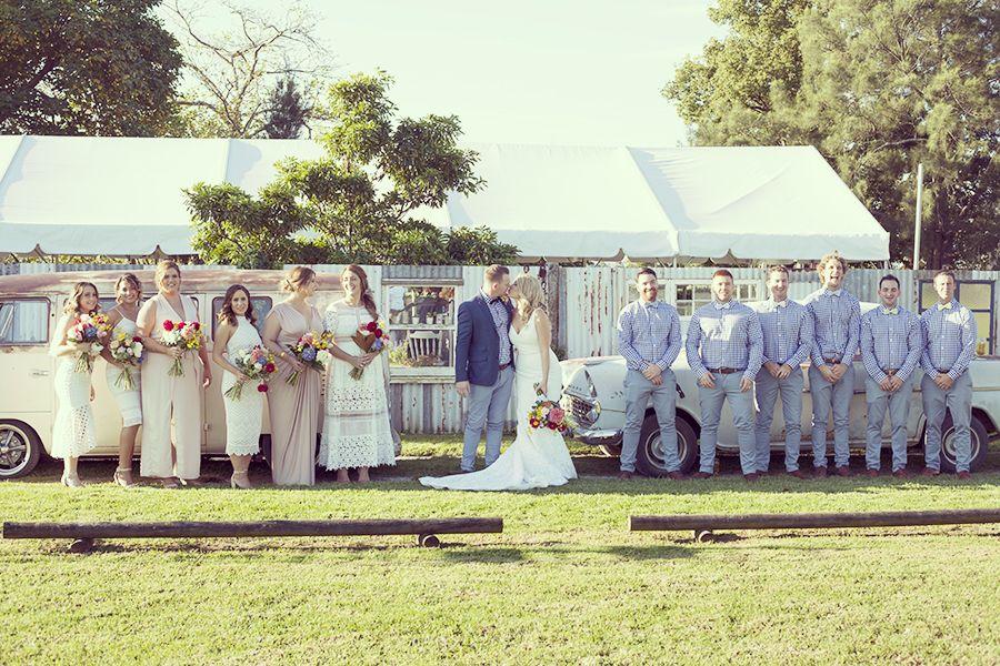 Cronulla Wedding With Rusty Kombi