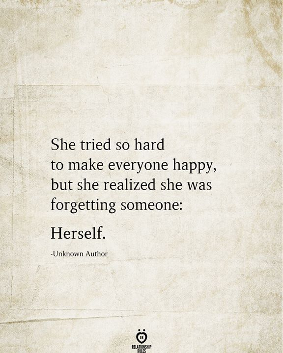 She Tried So Hard To Make Everyone Happy, But She Realized She Was Forgetting Someone