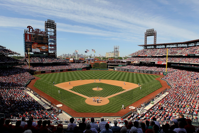 Citizens Bank Park Home To The Philadelphia Phillies Mlb Stadiums Baseball Park Phillies Baseball