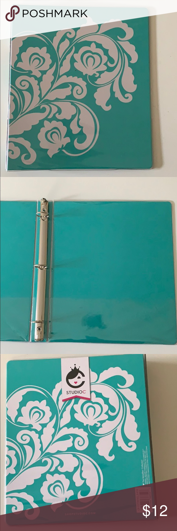 Carolina Pad Vinyl 1 Binder 10x11 The Versatile Nwt Vinyl Clear Vinyl Vinyl Cover