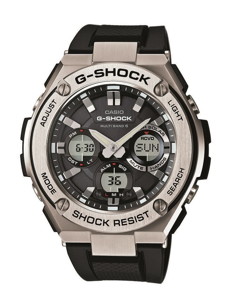 Casio G-Shock GST-W110-1AER férfi karóra. A karóra elképesztő külsőt  kapott 359760c159