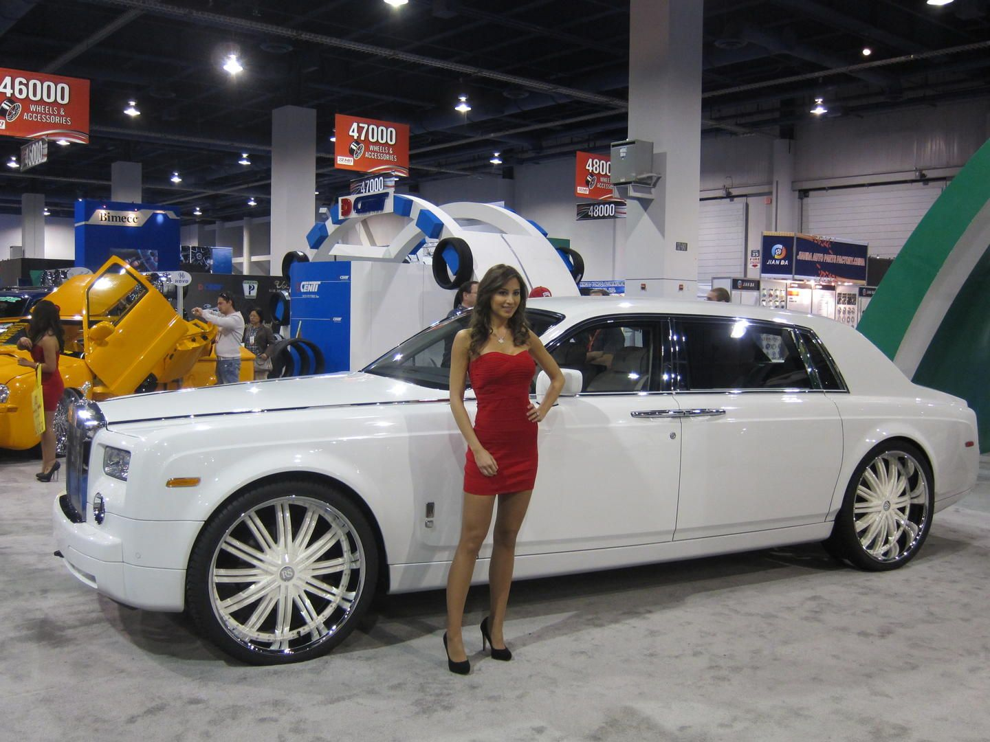I love cars. I should be in the business so I could go to SEMA in ...