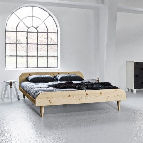 140x200 twist bed by karup designed in denmark from pine for Bett scandinavian design