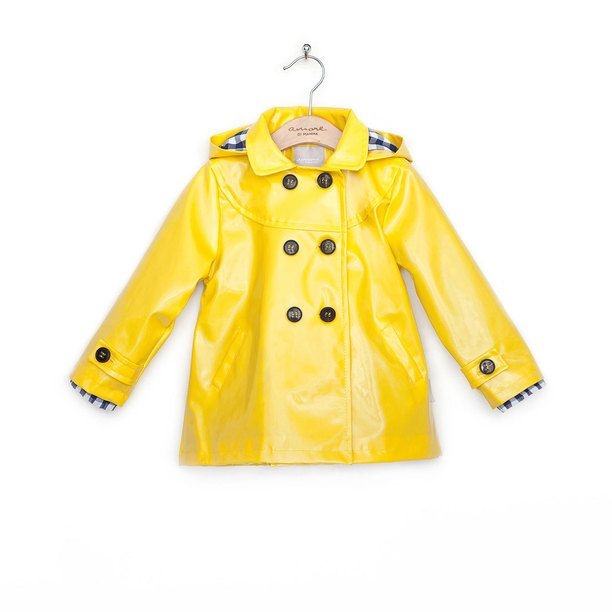 yellow rain coat | For Our Bugs | Pinterest | Rain coats ...  yellow rain coa...